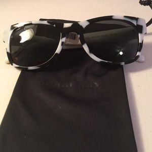 💐HP💐BURBERRY BE 4149 3413/87 BLACK SPOTTED WHITE